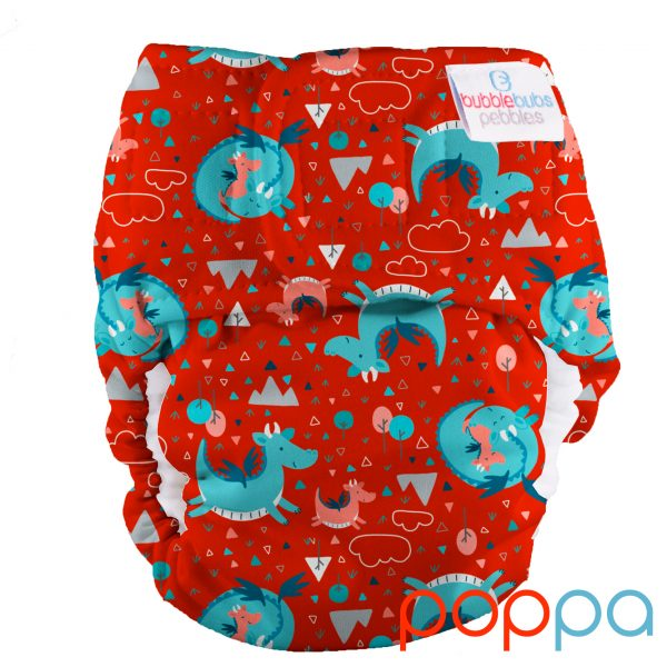 pebbles-all-in-one-newborn-reusable-cloth-nappy-dragons