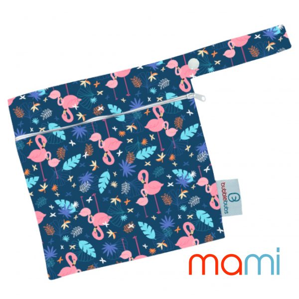 reusable-modern-cloth-nappy-mini-wetbag-flamingos
