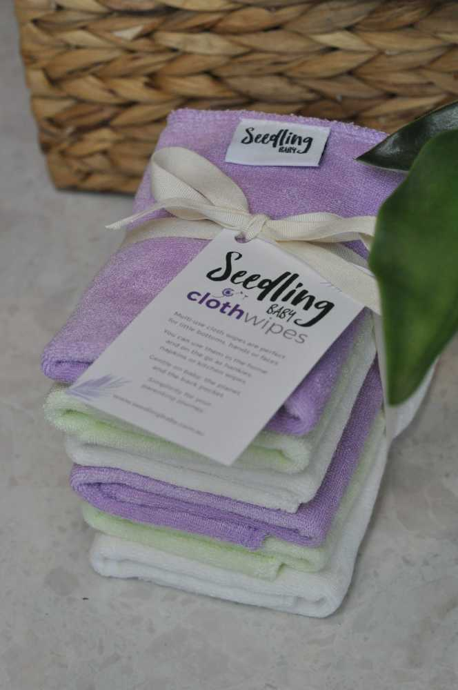 seedling baby 6 pack wipes
